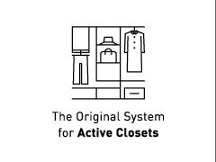 The Original System for Active Closets